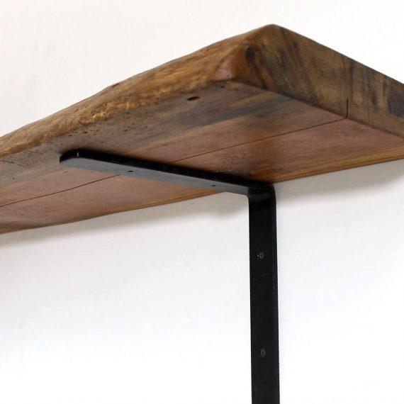 Wooden Live Edge Slab - Floating Shelf - WOODSWAN - LEDGE L106