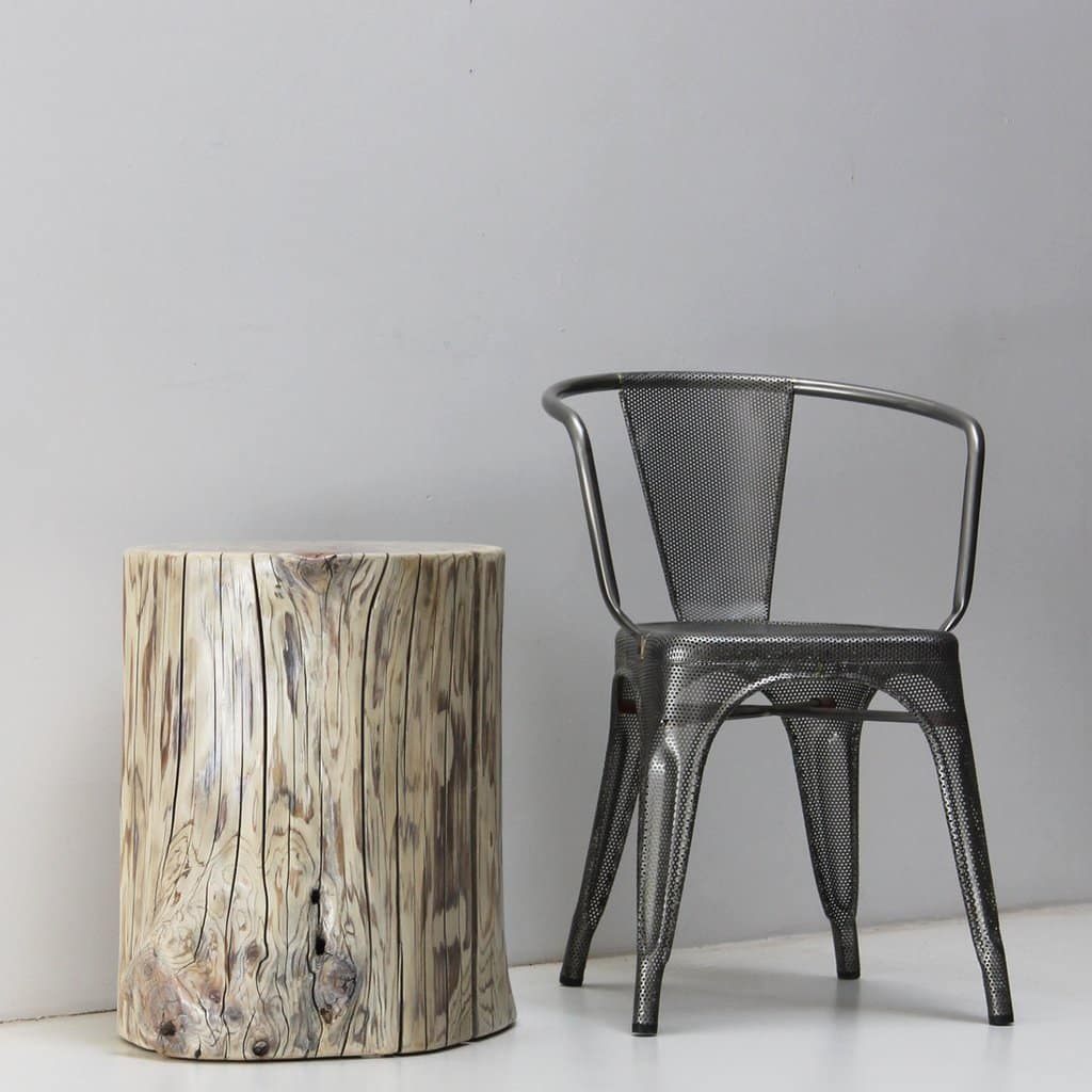 White Cedar Tree Stump Stool Side Table - WOODSWAN - Rescue R103