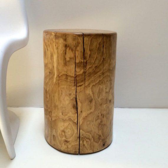 Ponderosa Pine Tree Stump Side Table or Stool - WOODSWAN - R108