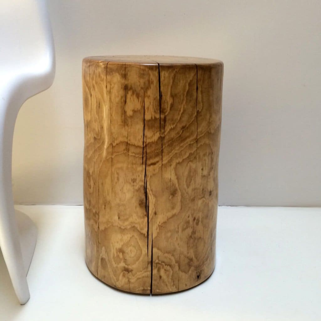 Ponderosa Pine Tree Stump Side Table or Stool - WOODSWAN - R108